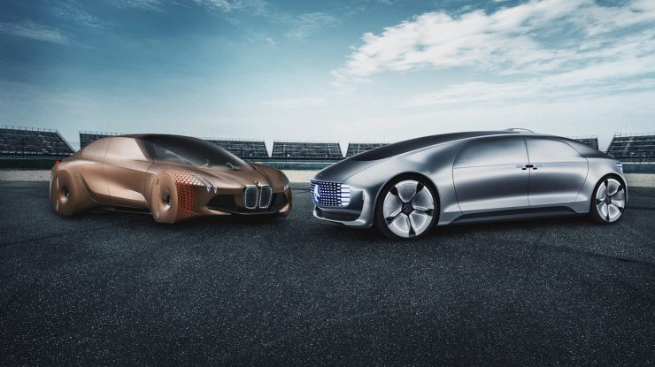 Mercedes-Benz y BMW