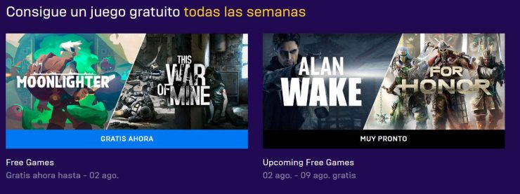 Moonlighter y This War of Mine en la Epic Games Store
