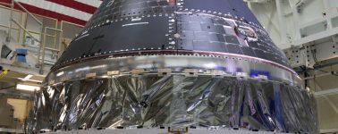 La nueva cápsula Orion de la NASA ya está lista para su primer viaje a la Luna