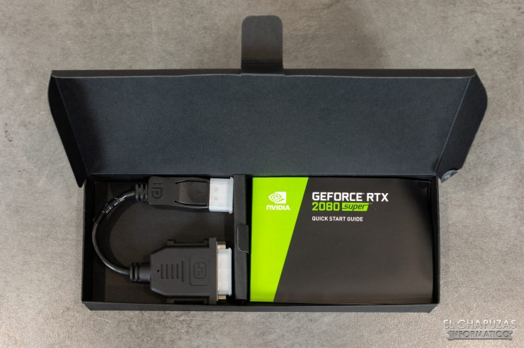 Nvidia GeForce RTX 2080 SUPER Founders Edition - Accesorios