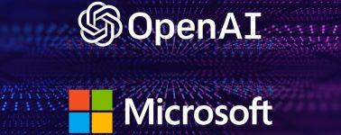 Microsoft invierte 1.000M de dólares en OpenAI para apoyar la Inteligencia Artificial