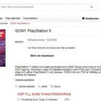 MediaMarkt Suecia inicia por error la precompra de la PlayStation 5 por 950 euros