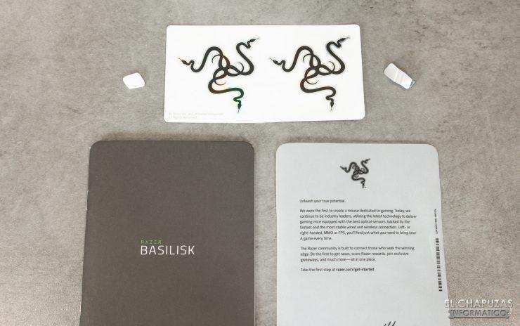 Razer Basilisk Mercury - Accesorios