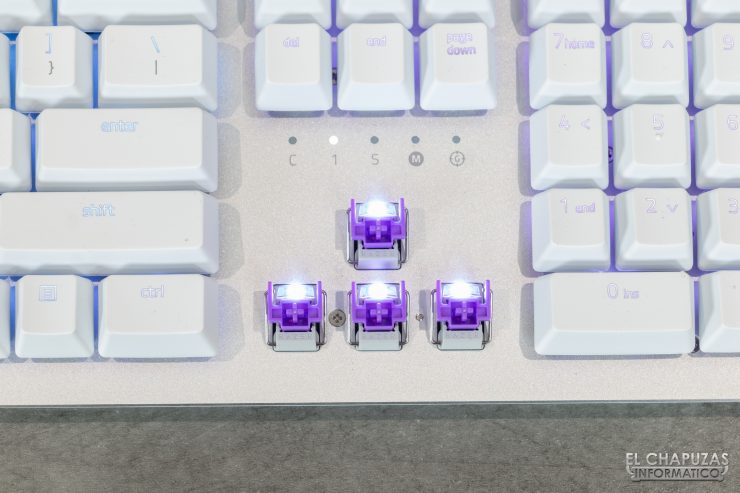 Razer Huntsman Mercury - Interruptores Razer Opto-Mechanical Switch