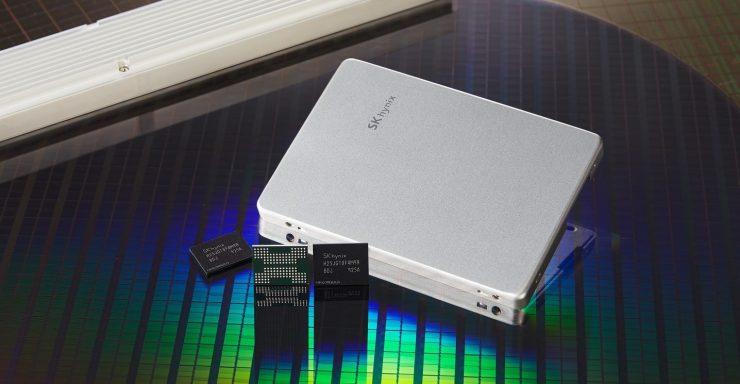 SK Hynix TLC 4D NAND Flash 740x384 0