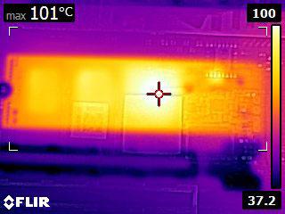 Temperatura Aorus NVMe Gen4 SSD 1 1