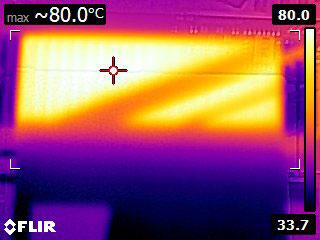 Temperatura Aorus NVMe Gen4 SSD 2 2