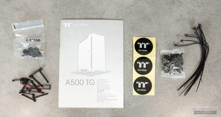 Thermaltake A500 - Accesorios