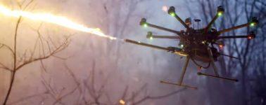 Los drones lanzallamas ya son una realidad: este barato accesorio es la clave