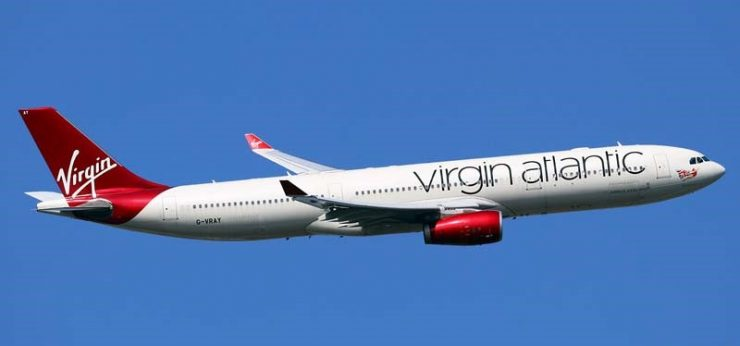 Virgin A330 avion