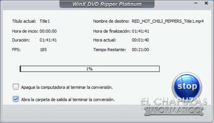 WinX DVD Ripper Platinum 6