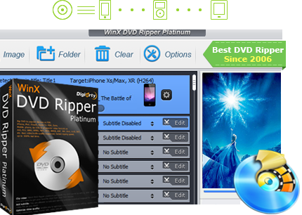 WinX DVD Ripper Platinum 8