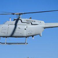 La Armada de los Estados Unidos indica que su dron MQ-8C Fire Scout ya está listo
