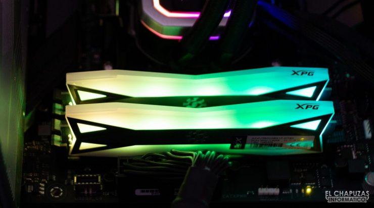 ADATA XPG Spectrix D60G DDR4 - Equipo de pruebas 2