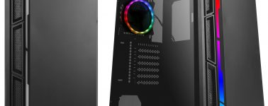 Antec NX400: Semitorre básica con iluminación RGB frontal por 53,99 euros