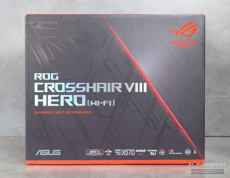 Asus ROG Crosshair VIII Hero (Wi-Fi) - Embalaje 1