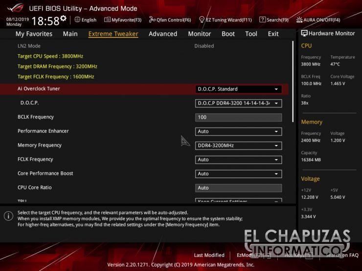 Asus ROG Crosshair VIII Hero WI FI BIOS 5 740x555 41
