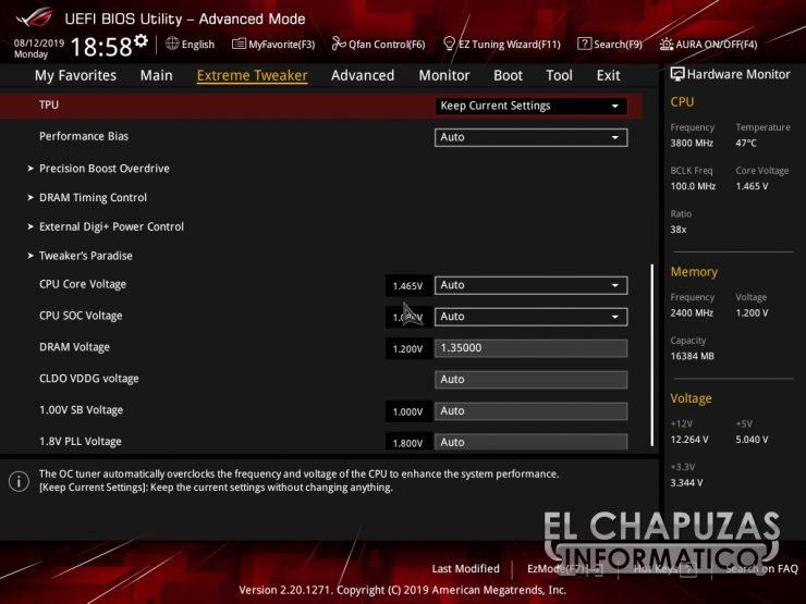 Asus ROG Crosshair VIII Hero WI FI BIOS 6 740x555 42