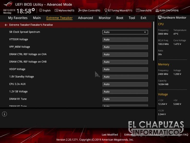 Asus ROG Crosshair VIII Hero WI FI BIOS 7 740x555 43