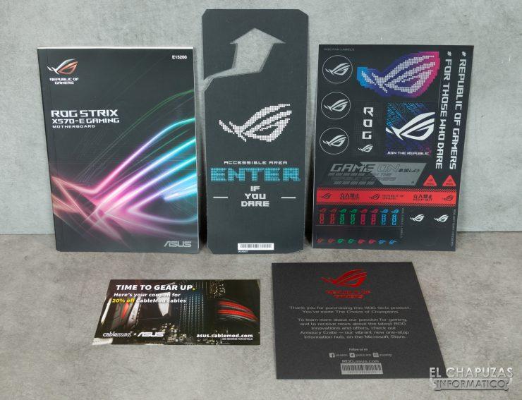 Asus ROG Strix X570-E Gaming - Documentación