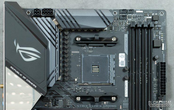 Asus ROG Strix X570-E Gaming - Socket