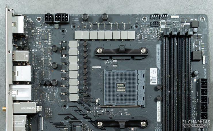 Asus ROG Strix X570-E Gaming - VRM