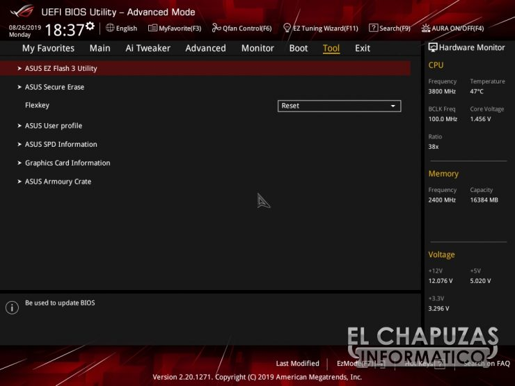 Asus ROG Strix X570 E Gaming BIOS 11 740x555 47