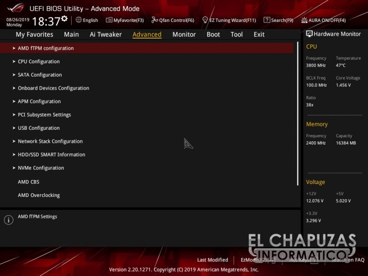 Asus ROG Strix X570 E Gaming BIOS 8 740x555 44