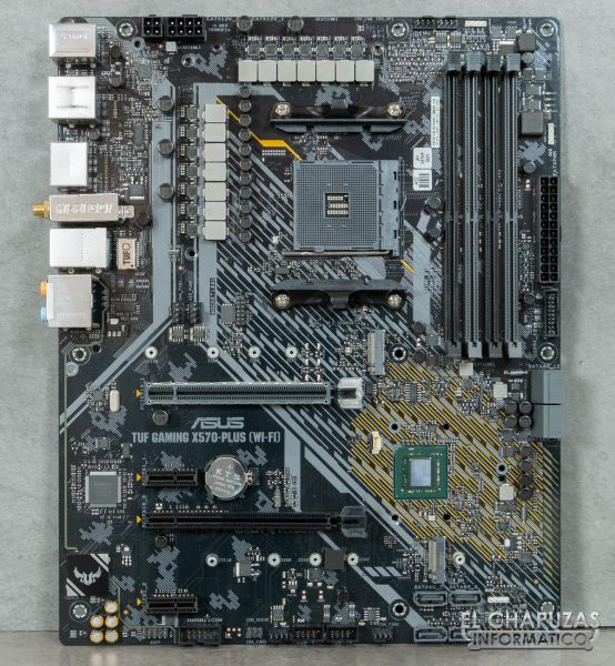 Asus TUF Gaming X570-Plus (Wi-Fi) - Placa desnuda