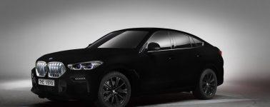 BMW crea «el coche más negro del mundo»: así es el BMW X6 pintado con Vantablack