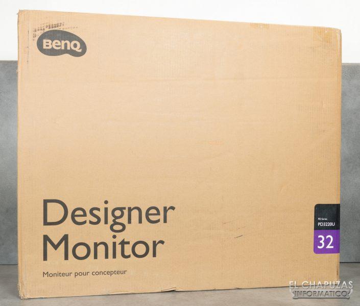 BenQ PD3220U - Embalaje exterior