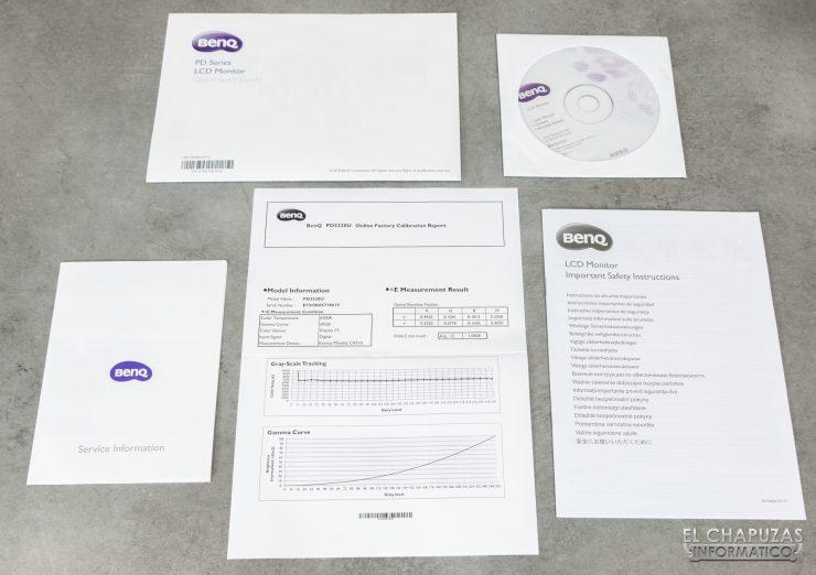 BenQ PD3220U - Documentación