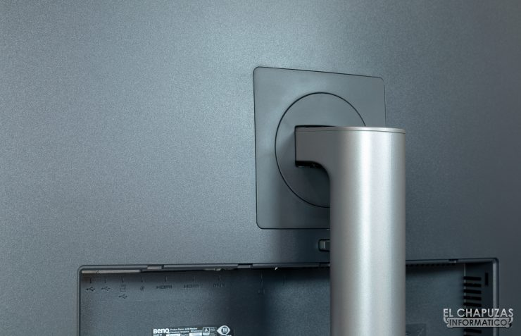BenQ PD3220U - detalle peana