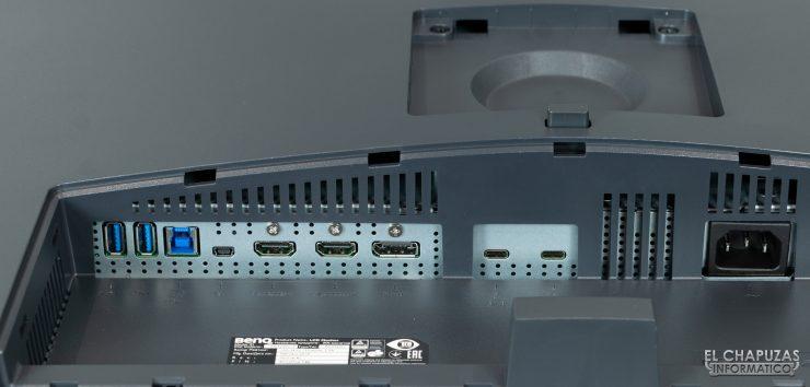 BenQ PD3220U - conectores