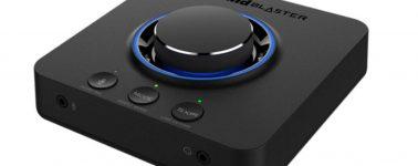 Creative Super X-Fi Theater, auriculares con sonido holográfico y tarjeta de sonido Sound Blaster X3
