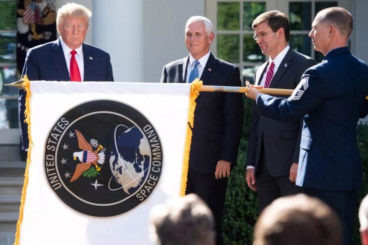 Donald Trump Comando Espacial
