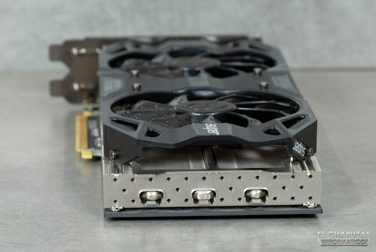 EVGA GeForce RTX 2060 SUPER SC Ultra - Vista trasera