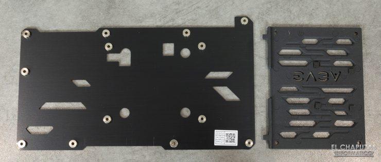 EVGA GeForce RTX 2060 SUPER SC Ultra - Backplate desmontado
