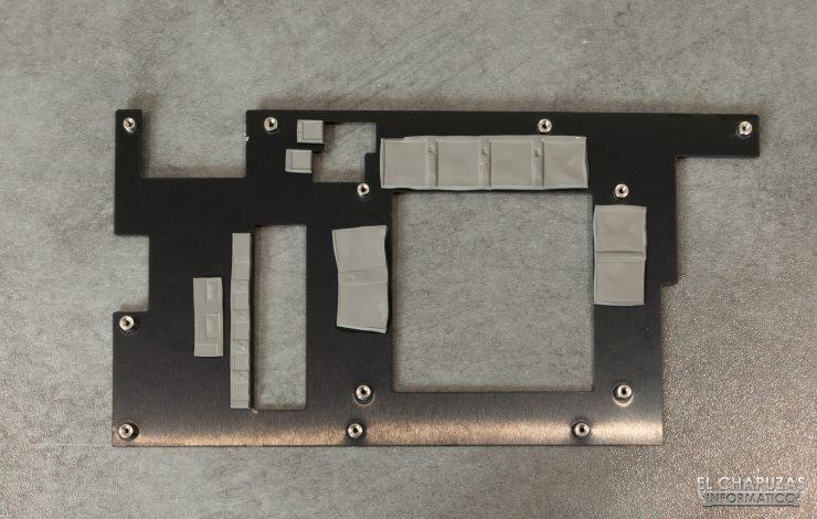 EVGA GeForce RTX 2060 SUPER SC Ultra - Frontplate desmontado