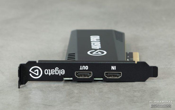 ElGato 4K60 Pro MK.2 - Conectores HDMI