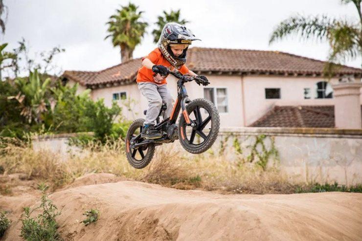 Harley-Davidson bicicleta eléctrica niños