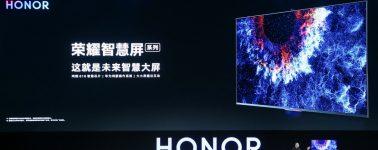 Así son las Honor Smart Screen, las Smart TV de Huawei con IA, cámara, y HarmonyOS
