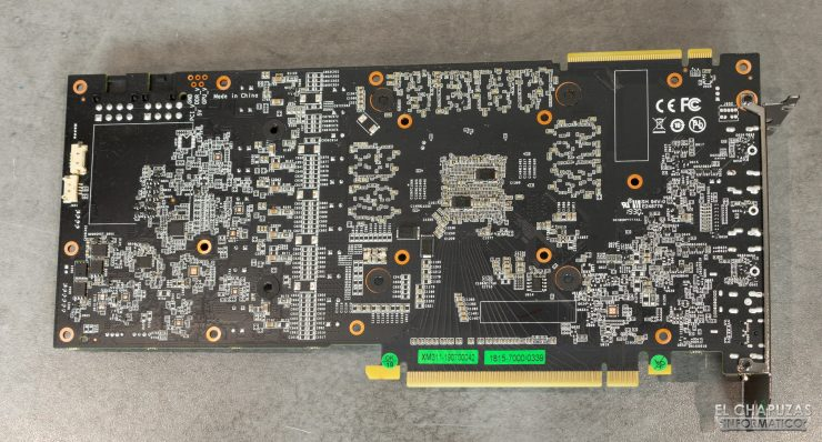 KFA2 GeForce RTX 2070 SUPER EX Gamer Black - PCB trasero