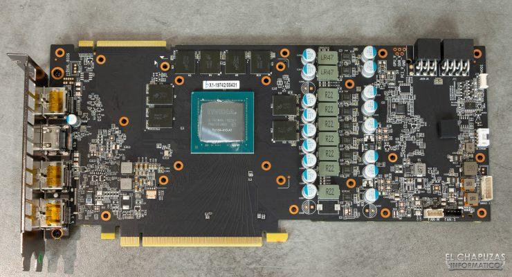 KFA2 GeForce RTX 2070 SUPER EX Gamer Black - PCB frontal