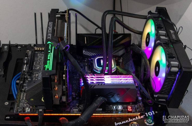 KFA2 GeForce RTX 2070 SUPER EX Gamer Black - Equipo de pruebas 2