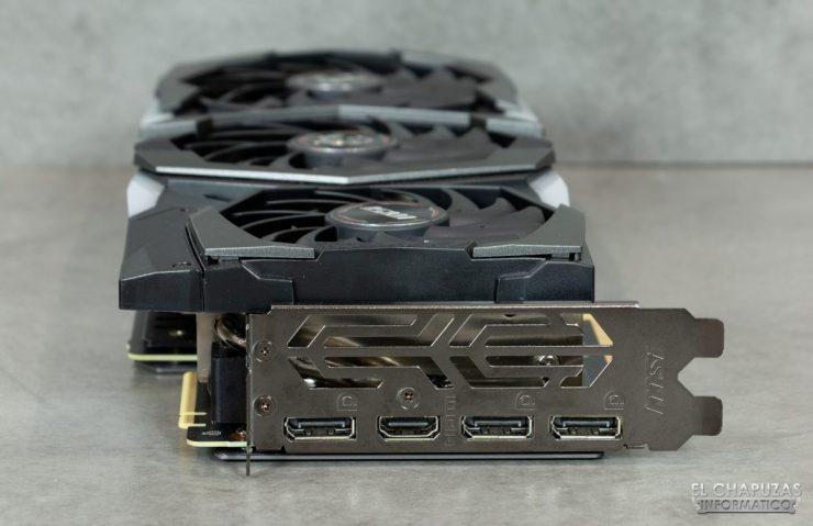 MSI GeForce RTX 2070 SUPER Gaming X Trio - Conectores