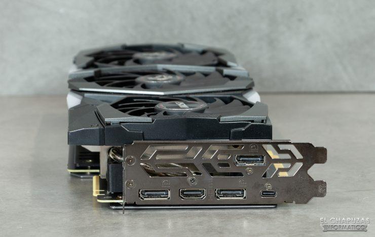 MSI GeForce RTX 2080 SUPER Gaming X Trio - Conectores