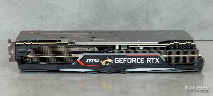 MSI GeForce RTX 2080 SUPER Gaming X Trio - Vista lateral