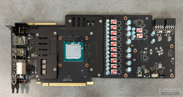 MSI GeForce RTX 2080 SUPER Gaming X Trio - Frontplate