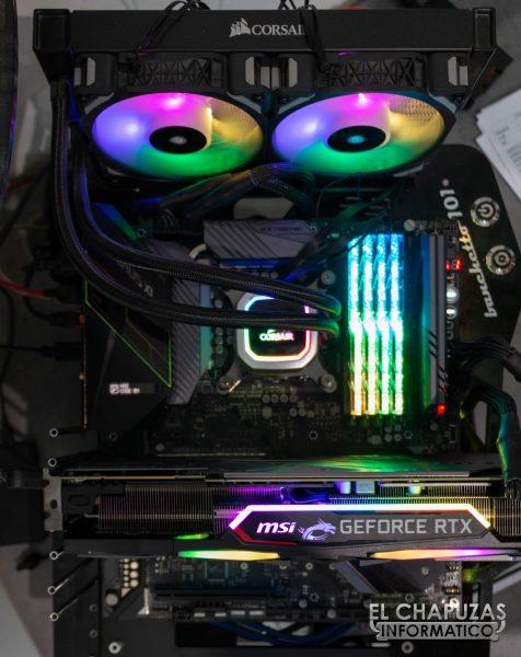 MSI GeForce RTX 2080 SUPER Gaming X Trio - Equipo de pruebas 1